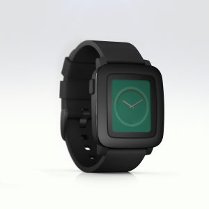 Pebble Time - Black