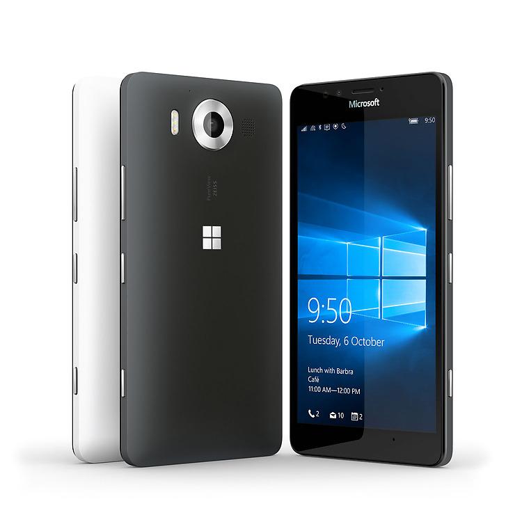 Tampilan Menawan Lumia 950