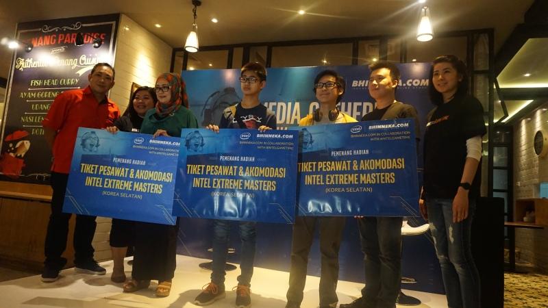 Para Pemenang Hadiah Tiket Intel Extreme Masters (IEM) 2016 di Korea Selatan