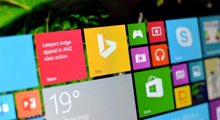 Sistem Operasi Windows 8.1 dengan Bing Search Engine
