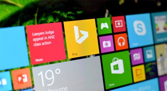 Sistem Operasi Windows 8.1 dengan Bing Search Engine