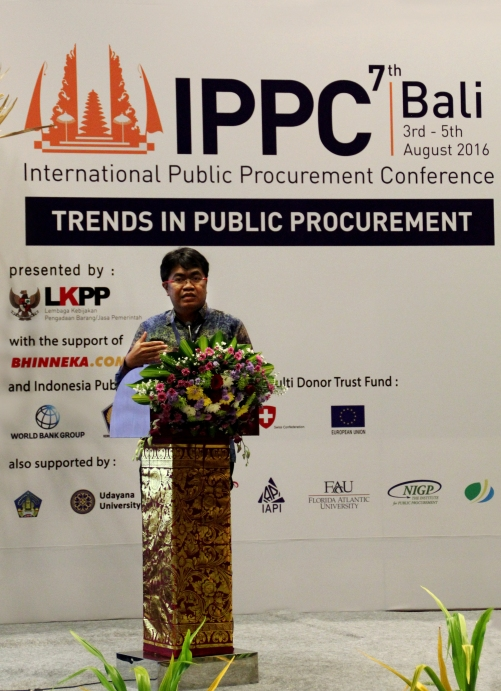 Heriyadi Janwar (VP for Corporate Sales - Bhinneka.Com) Present di Acara IPPC ke-7