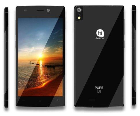 Tipisnya Smartphone HIMAX Pure S