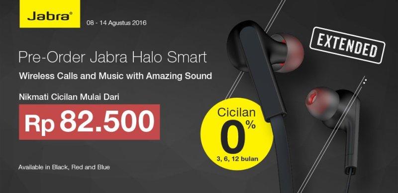 Pre Order Jabra Halo Smart hanya tersedia di Bhinneka.Com