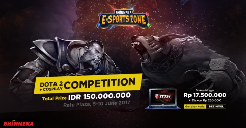 DOTA 2 Competition E-Sports Zone